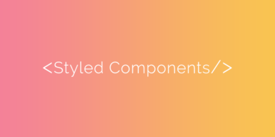 Styled Components Banner