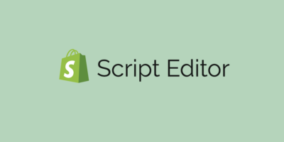 Shopify Script editor free product banner